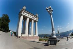 Набережная Волгограда, август 2015