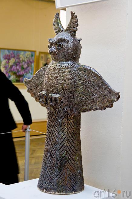Скульптурная композиция «Филин». Шубин Б.А.(1937-2005)