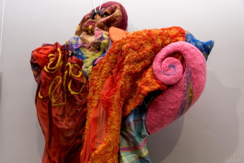 Фото №859789. Между коконом и бабочкой. Дизайн костюма (фрагмент ). Сергунина Эльвира