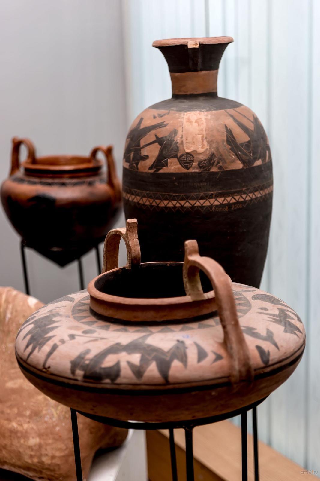 Фото №859819. Фрагмент экспозиции. Керамика