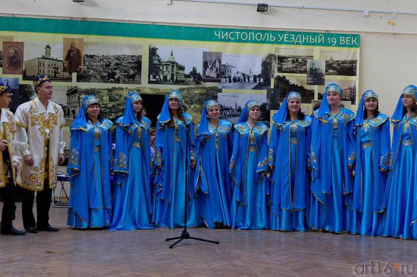 Выступление фольклорных коллективов г. Чистополя