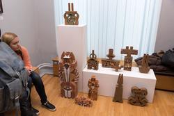 Фрагмент экспозиции. Выставка «Территория декоративно-прикладного искусства»
