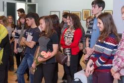 На открытии выставки «Территория ДПИ»