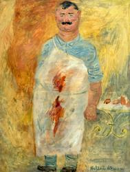 Мясник. между 1928-1935. Альтман Натан Исаевич. 1889-1970