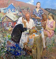 День Победы. 1972-1975. Савинов Глеб Александрович. 1915-2000