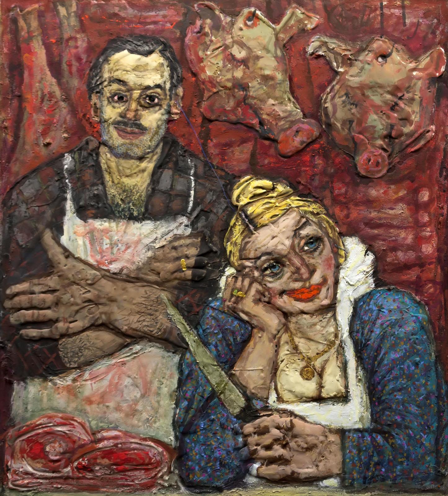 Фото №860867. Владимирский рынок (''Под музыку Вивальди'') 2004. Штерн Алексей Георгиевич. 1942