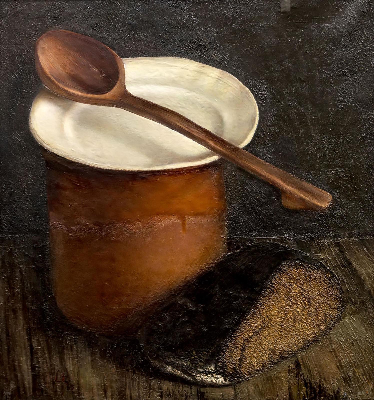 Фото №860885. Сельский натюрморт. 1965. Эндзелина Ливия Яновна. 1927-2008