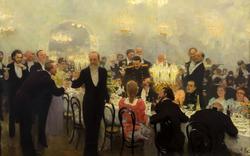 Юбилейный обед. 1893. Репин Илья Ефимович. 1844-1930