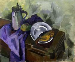 Натюрморт с воблой. 1918. Куприн Александр Васильевич. 1880-1960