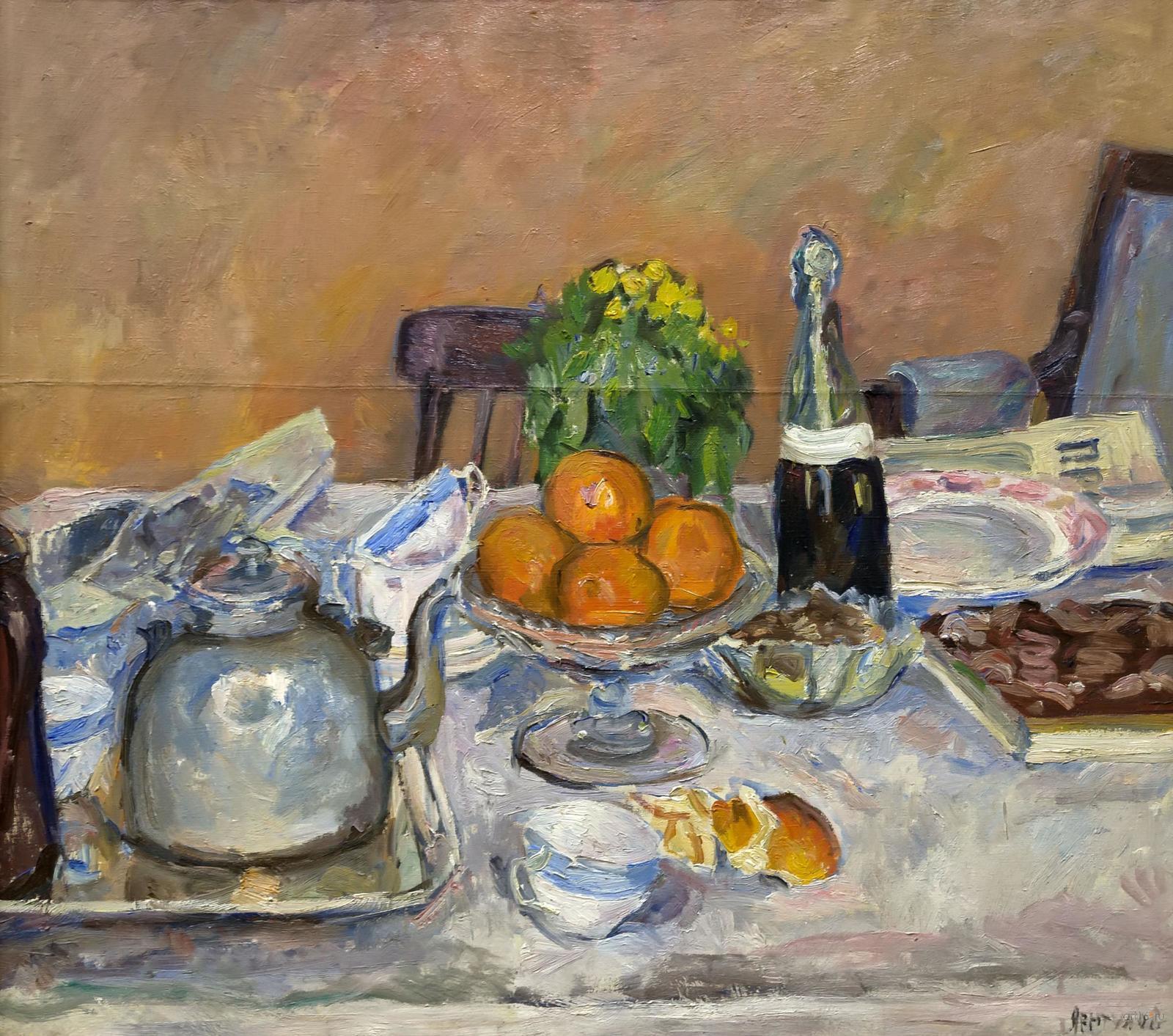 Фото №861013. Натюрморт. Праздничный стол. 1932. Лентулов Аристарх Васильевич. 1882-1943