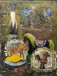 Праздничный стол. 1956-1961. Васнецов Юрий Алексеевич. 1900-1973