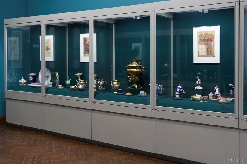 Фото №861091. Фрагмент экспозиции выставки '' Добро пожаловать'', проведенной в рамках «Приглашения к обеду»