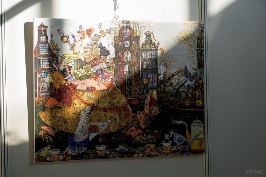 Работа проекта Петра Фролова ʺАзбукаʺ::Арт-галерея. Казань—2015