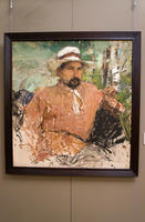 Портрет художника Григория Антоновича Медведева. 1912. . Фешин Н.И.