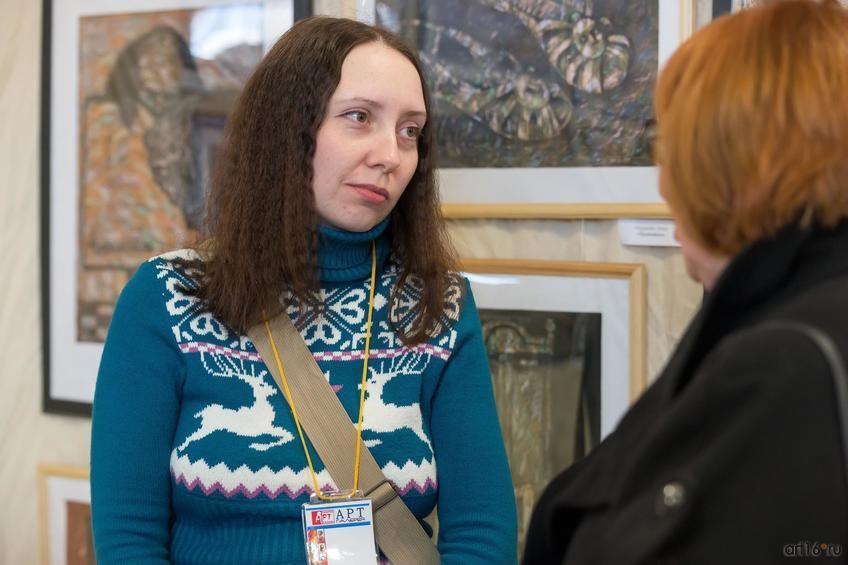 Анна Федорова::Арт-галерея. Казань—2015
