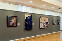 Фрагмент экспозиции выставки Николай Фешин