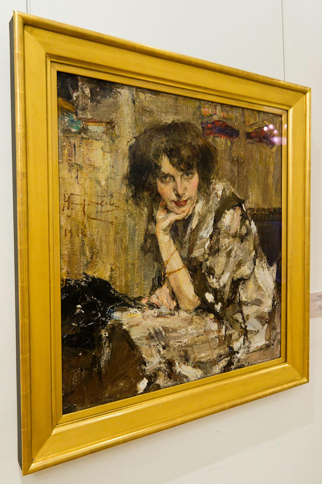 Фото №86489. Молодая женщина, 1912. Фешин Н.И.