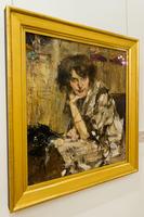 Молодая женщина, 1912. Фешин Н.И.