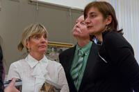 Никоэла Доннер  с супругом и Галина Тулузакова
