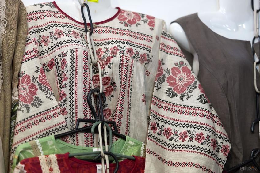 Фото №865227. Кострома (?). Женская вышитая рубаха