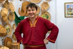 Арсений Амосов (художественная обработка бересты)