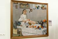 Портрет Вари Адоратской. 1914.Фешин  Н.И.