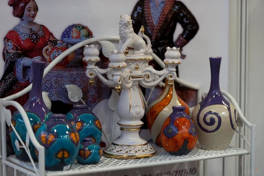 Мастерская майолики Павловой и Шепелёва   (Ярославль)::Арт-галерея. Казань—2015