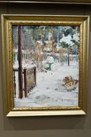 Зимний пейзаж. 1917. Фешин  Н.И.