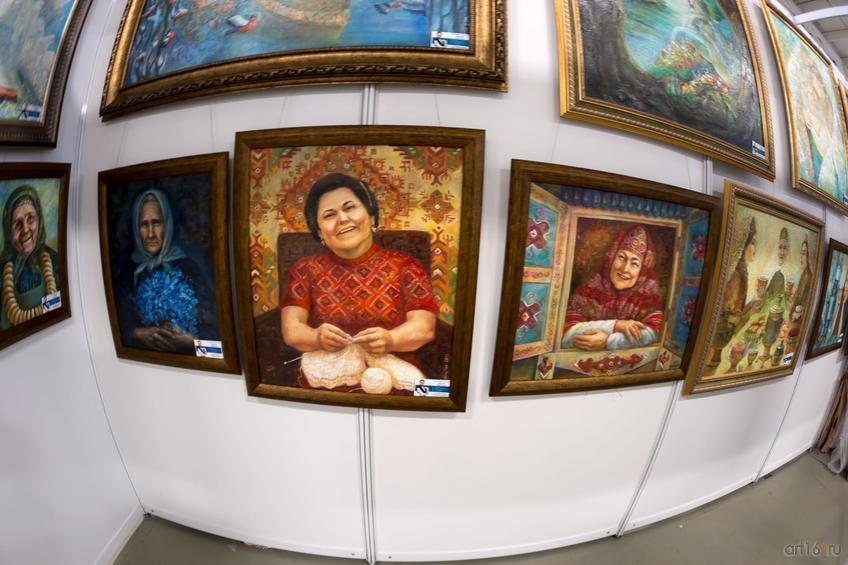 Серия «Бабушки». Анастасия Бузунеева::Арт-галерея. Казань—2015