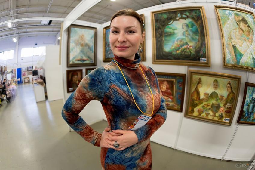 Анастасия Бузунеева::Арт-галерея. Казань—2015