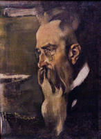 Портрет Николая Андреевича Римского-Корсакова. 1920-е. Фешин  Н.И.