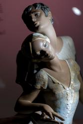 Страстный танец. Скульптор Хуан Уэрта. 1973-1986 (фрагмент)