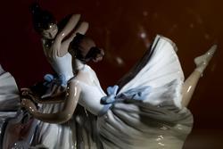 Урок балета. Скульптор Хосе Луис Сантес. 2010 г. (фрагмент)