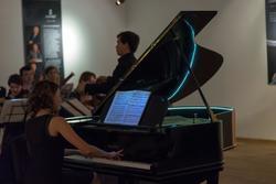 Концерт классичекской музыки на открытии выставки «Фарфор на пуантах»