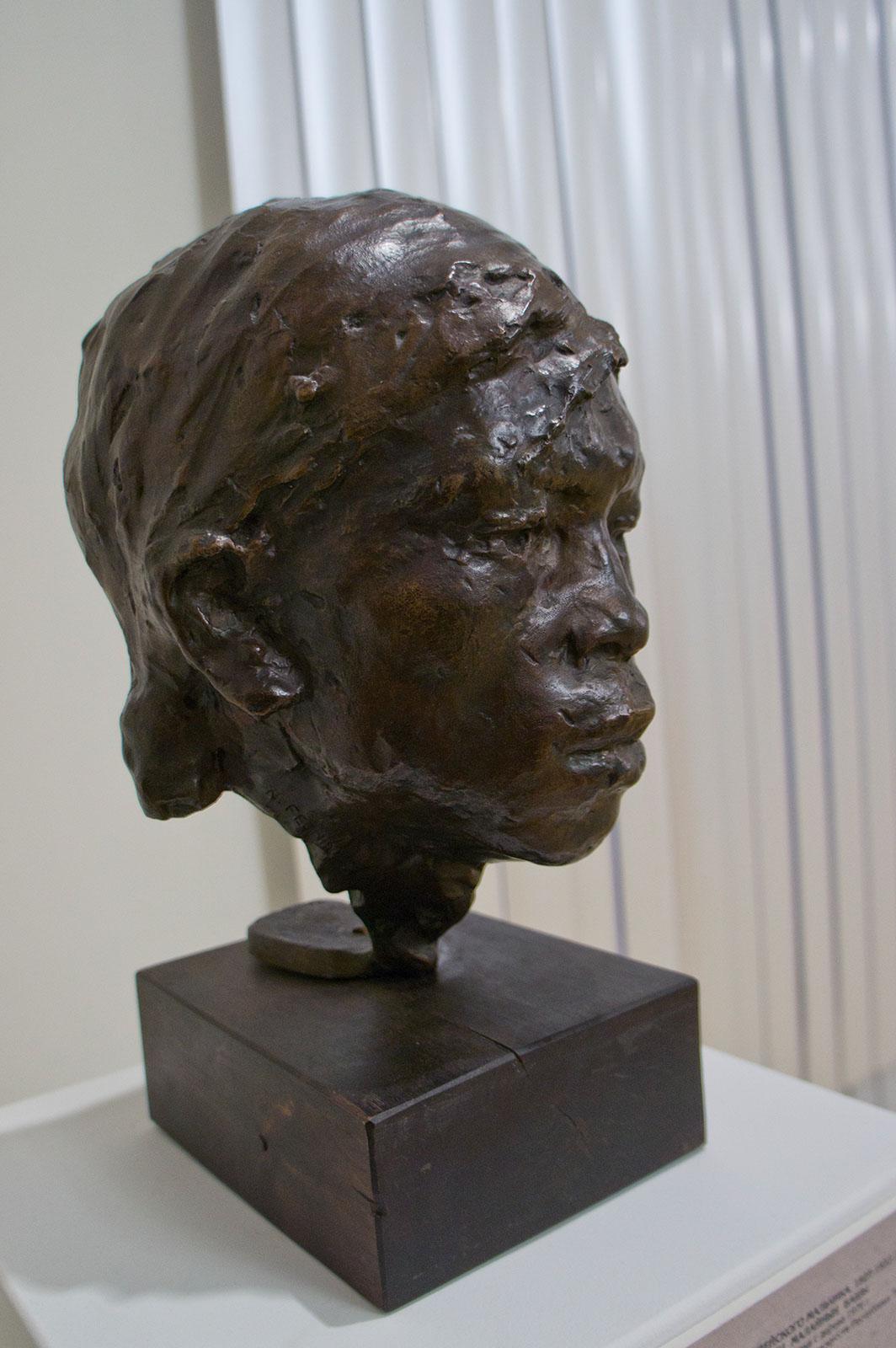 Фото №86629. Голова индейского мальчика. 1927-1933 (?). Фешин Н.И.