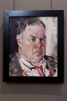 Портрет Д.Д.Бурлюка. 1923. Фешин Н.И.