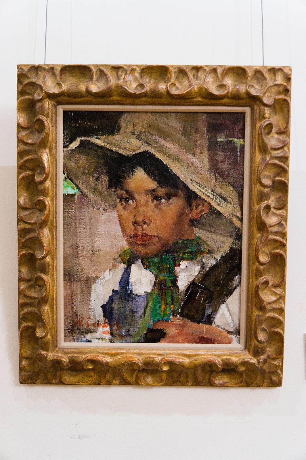 Фото №86679. Мексиканский мальчик. Между 1945-1947. Фешин Н.И.