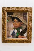 Мексиканский мальчик. Между 1945-1947. Фешин Н.И.