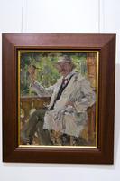Портрет Василия Семеновича Богатырева. 1916. Фешин Н.И.