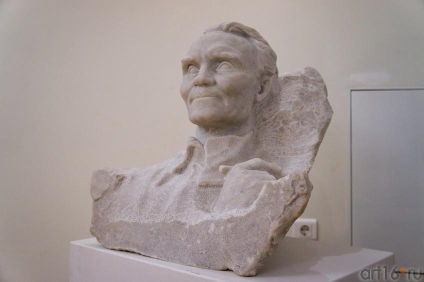 Портрет Фешин Н.И. 1963, Коненков С.Т. (1884-1971)::Николай Фешин. От Казани до Таоса