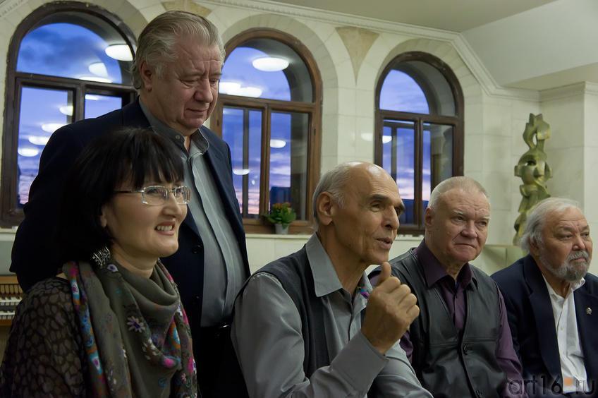 Фото №86821. Р. Султанова, И. Хамидуллин, И.Ханов, В.Скобеев, А.Абзгильдин