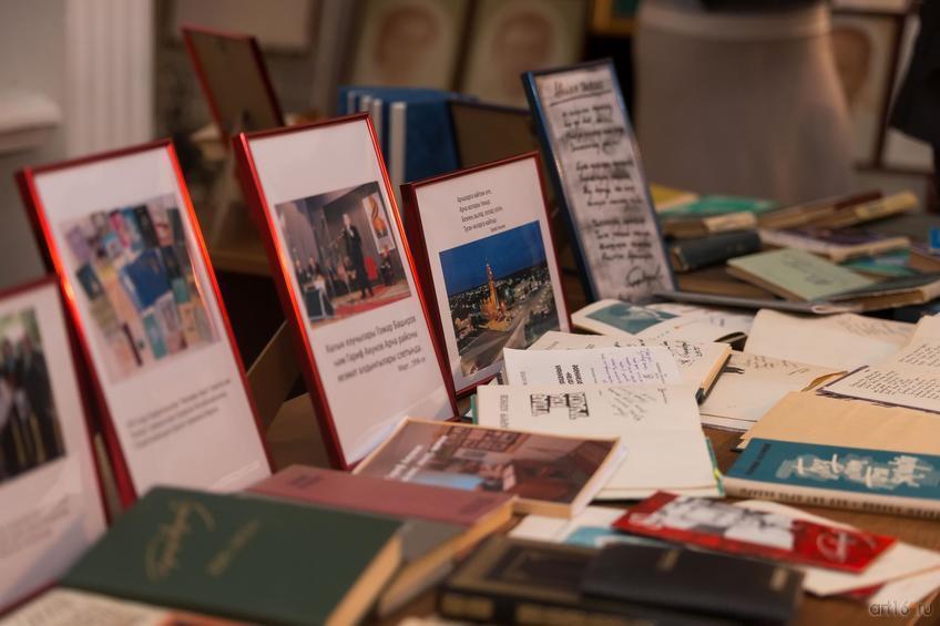 Фото №868420. Выставка, приуроченная к юбилею народного писателя Гарифа Ахунова