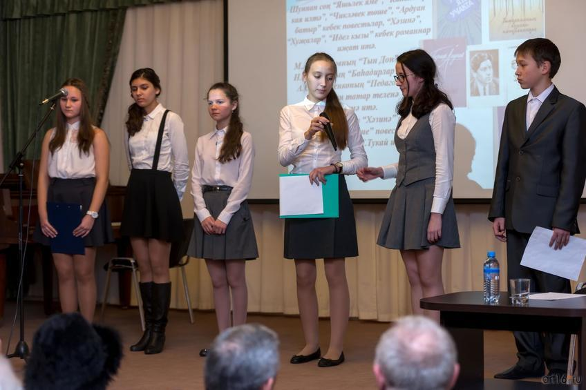 Фото №868582. Учащиеся  школы № 35  (ул. Гарифа Ахунова в Солнечном городе)