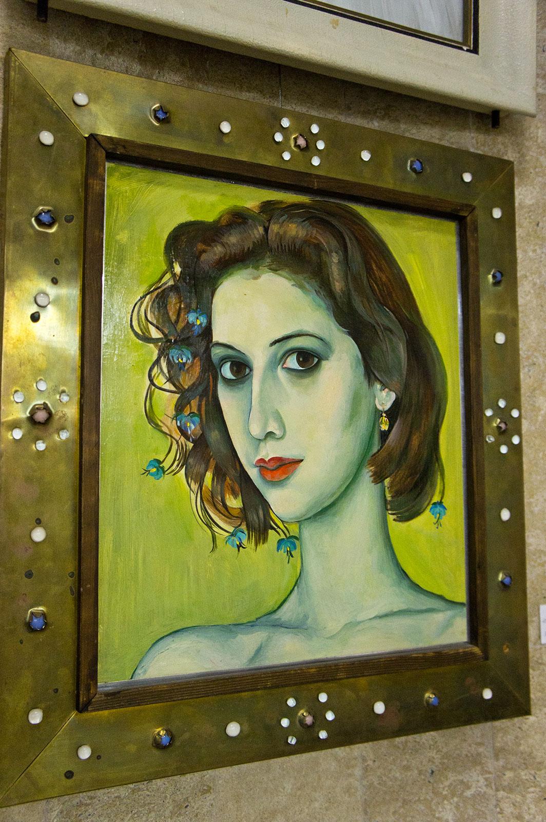 Фото №86886. ''Пиковая дама''. Портрет Ольги. 1992. Новоселов А.Ф.