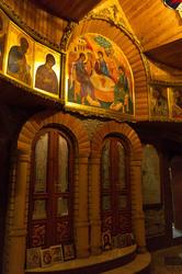 Иконы часовни Вселенского храма — работа Ильгиза Ханова, мл. брата Ильдара Ханова