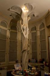 Мастерская художника в зале Будды. Фрагмент интерьера