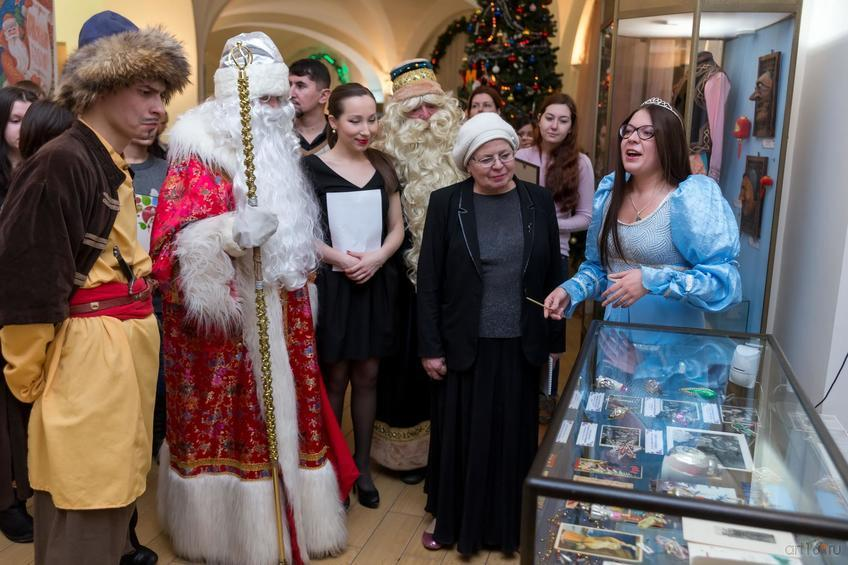 Фото №871232. Открытие выставки «Традиции зимних праздников»
