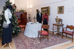 Фрагмент интерьера гостиной городского дома кон XIX-нач. XX