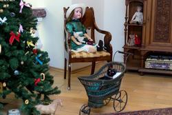 Фрагмент интерьера детской комнаты городского дома (кон. XIX-нач.XX)