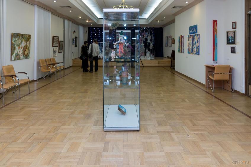 Фото №871539. Фрагмент экспозиции выставки «Новогоднее волшебство Ангелов»